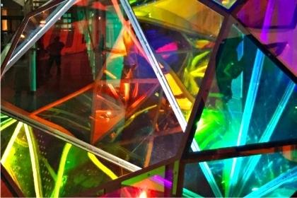 Diament – instalacja audiowizualna